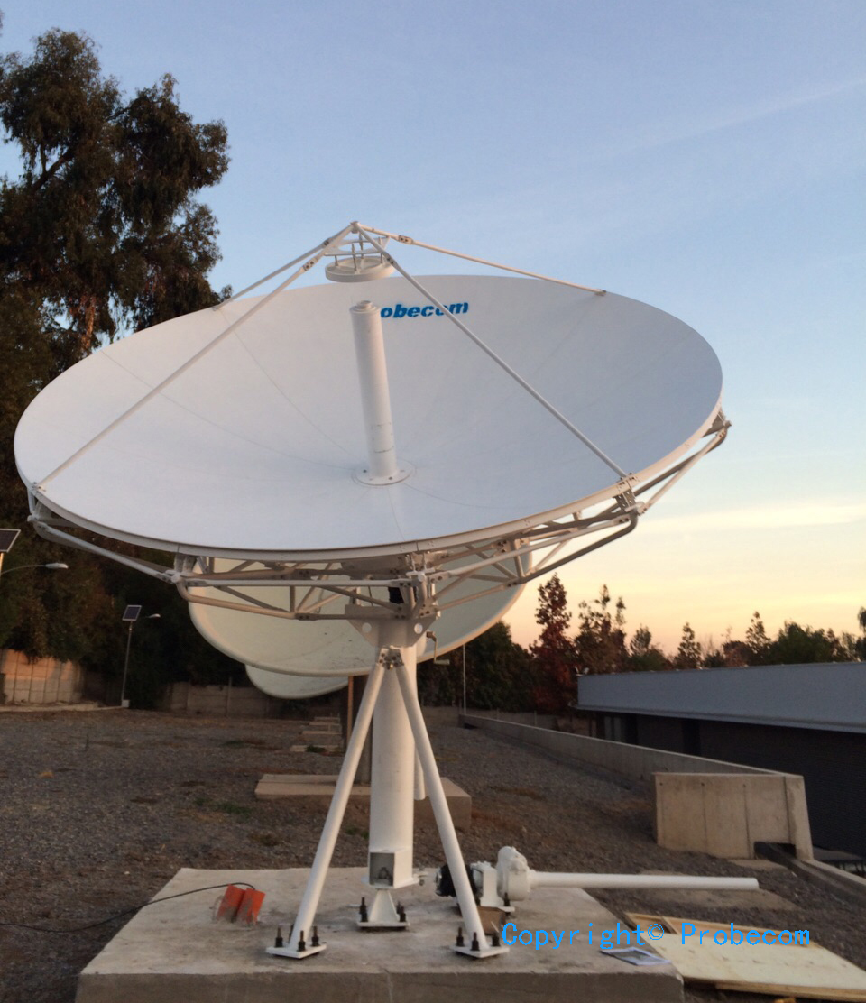 3.7m DBS band antenna system in Spain