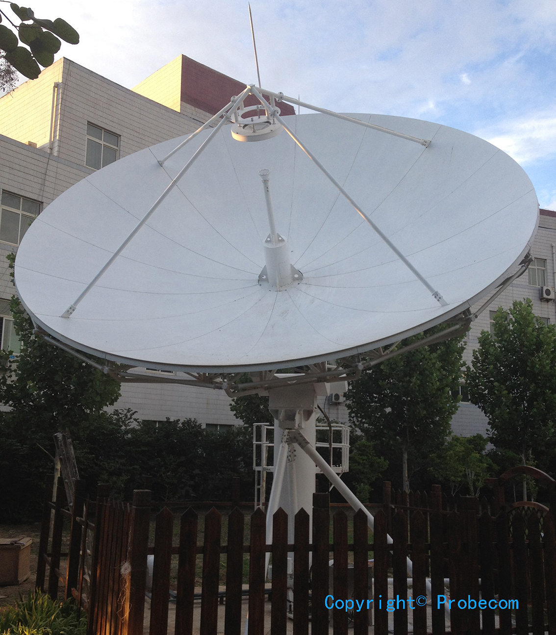 6.2m Ku band TXRX motorized antenna in Beijing.JPG